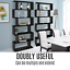 thumbnail 8 - Black 6 Tier Display Shelf Bookcase Book Storage Bookshelf Rack Unit Stand Black