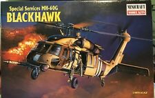 1:48 Minicraft / Academy MH-60G Blackhawk #11622 Parts are sealed!