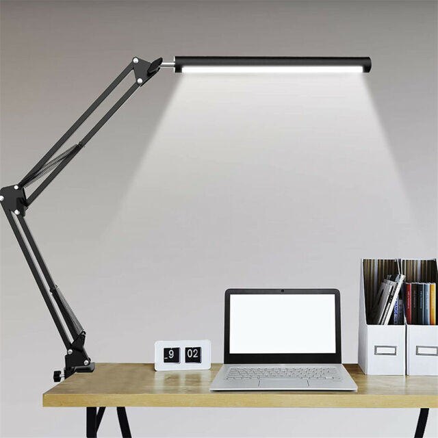 Led Table Lamp Led Desk Lamp Metal Swing Arm Dimmable Drafting Gesture Gold For Sale Online Ebay