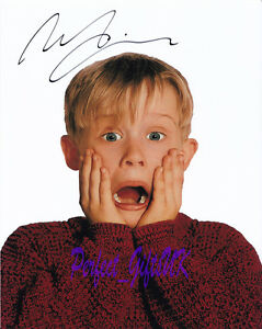 Details About Macaulay Culkin Signed Autographed Repro Pp Photo Print Kevin Home Alone 1 2