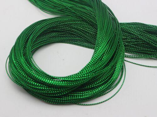 1 mm Metallic Thread Bijoux String Beading Cord for Gift Tag Carte environ 91.44 m 100 Yd