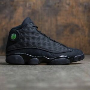 low priced 93357 9d565 Image is loading Nike-Air-Jordan-13-XIII-Retro-Black-Cat-