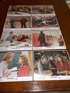 TEACHERS(1984) NICK NOLTE & JUDD HIRSCH ORIGINAL COLOR STILL SET OF 8 DIFFERENT+