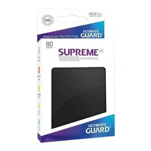 80 Ultimate Guard Supreme UX Sleeves Standard Size