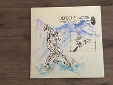"""Depeche Mode – Everything Counts (In Larger Amounts) 12"""" UK Mute – 12 BONG 3"""