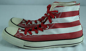 72ca5142723e Converse All-Star Chuck Taylors American Flag Stars   Stripes-Sz Men ...