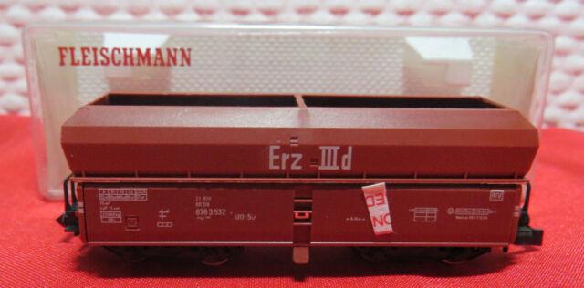NEU   Fleischmann 8520 Selbstentladewagen Erz III DB Spur N