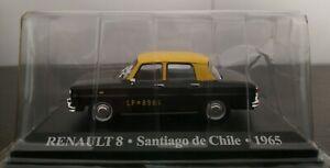 1-43-RENAULT-8-TAXI-SANTIAGO-DE-CHILE-1965-IXO-ALTAYA-ESCALA
