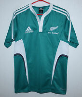 New Zealand national rugby union team shirt jersey Adidas Size S green
