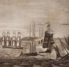 Charente-Maritime Rade des Basques Napoléon Bonaparte Premier Empire 1848