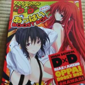 Anime-High-School-DxD-Rias-x-Akeno-Oppai-BOOST-BOX-Okawari-anime-Art-Book