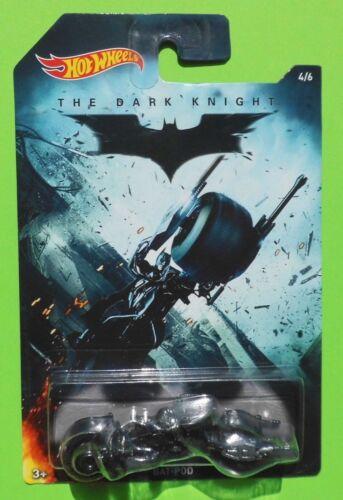 Ships Free Hot Wheels BATMAN The Dark Knight BAT-POD Batmobile 4//6
