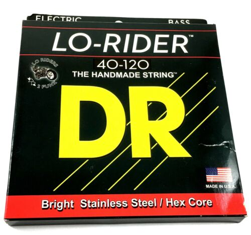 DR Bass Strings Lo-Rider Low Rider LH5-40 5-String Bass Strings 40-120