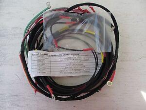 farmall cub 1950-54 serial #99536-186440 w/reg - 7 wiring harnesses  included | ebay  ebay