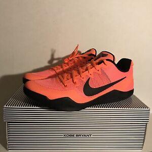 size 40 eeab9 feb57 Details about New Nike Kobe 11 XI EM Low Barcelona Bright Mango Mens Size  15 836183-806