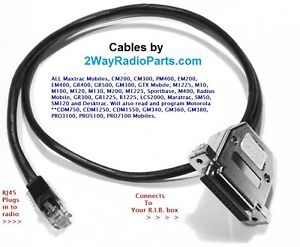 Details about Motorola programming cable Maxtrac GM300 SM120 SM50 USA