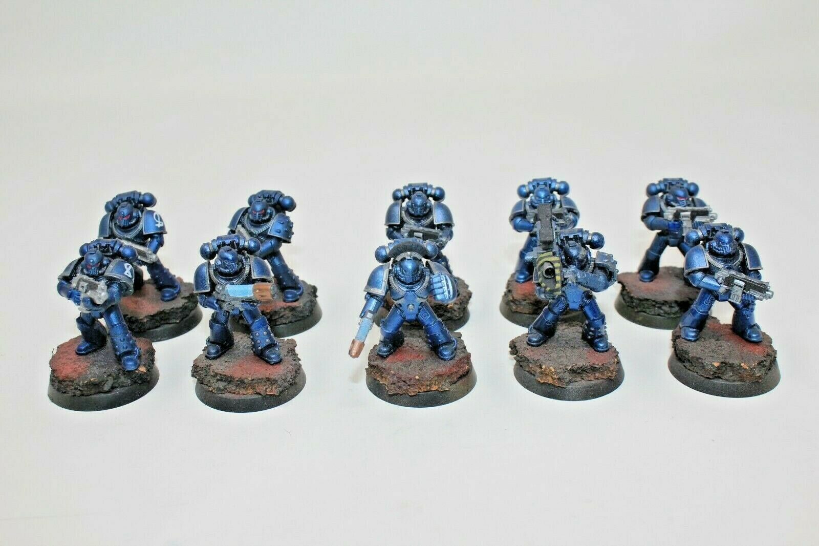 Warhammer spazio Marines Mark IV Tactical Squad Well Painted -  JYS56  liquidazione