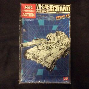 Anime Original Dorvack Action Vv-54e Scrand Model Variable Sealed 1984 Gundam
