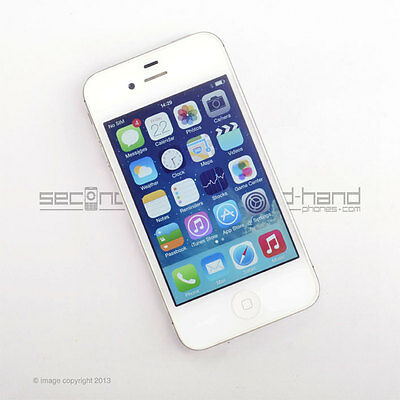 Apple iPhone 4S 16GB - White - Factory Unlocked - Good Condition