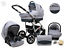 NEW Baby Pram 3 in 1 Baby Buggy Car Seat Carrycot Pushchair Travel System