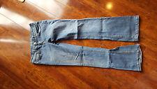 "Aeropostale Chelsea Womens Juniors Stretch Bootcut  Blue Jeans Size 6 Reg 30"" IS"