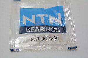 NTN-607LLBC3-Single-Row-Ball-Bearing-New