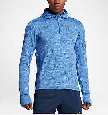 807456-422 New with tag Nike Men element sphere hooded long sleeve Shirt $100