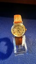 VICENCE 14K YELLOW GOLD SWISS QUARTZ LADIES WATCH