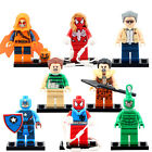 8pcs/set-Super-Heroes-SDCC-Captian-America-Hobgoblin-Stan-Lee-Minifigures-Toys