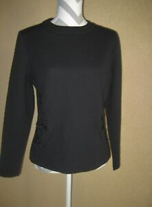 Domani-Knits-black-long-sleeve-round-neckline-embroidered-beaded-top-14