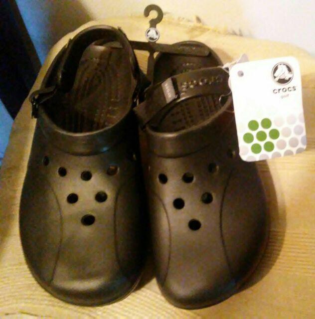 Men's Crocs Ace Golf Shoes - Size 10