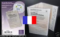 Pochette De Protection Pour Carte Grise Protege Housse Plastique Étuis France