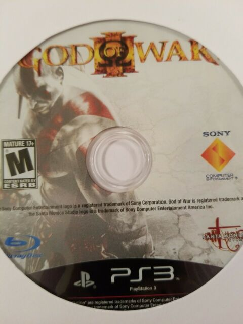 God of War III - PlayStation 3 - PS3 - Disc Only - Fast Free Shipping!