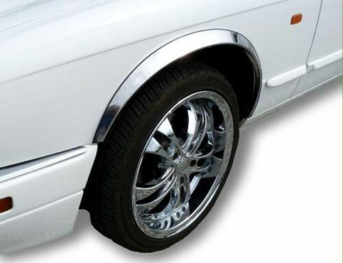 VW T4 Transporter Radlauf Zierleisten Neu 1991-2003 SCHWARZE MATTE  Kotflügeln