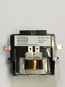 ABB DP40C3P-1//DEFINITE PURPOSE CONTACTOR 3 POLE //40 FLA 50A// 120  NEW