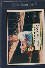1952 Topps #092 Dale Mitchell Indians Fair 52T92-70716-1