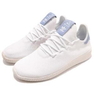52067fd03b00 adidas Originals PW Tennis Hu Pharrell Williams White Blue Men Shoes ...