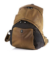 """Crumpler The Customary Barge-DELUXE CU-09A  Camera backpack 17""""Laptop bag(beech)"""