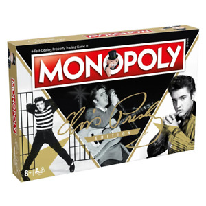 Monopoly Elvis Edition Board Game NEW