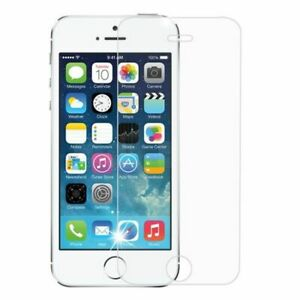 For Apple iPhone 5/5C/5S/SE Clear Tempered Glass Screen Protector