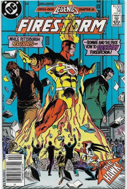 Fury of Firestorm (1982) #56 - VF/NM - Legends