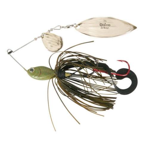 Iron Claw DOIYO IKASAMA Pro Tandem Spinnerbait 21 g//VMC-Crochet//sélecteur de couleurs
