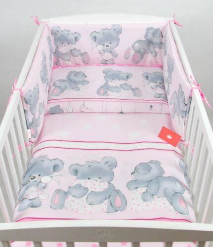 90 x 120 cm Housse de couette linge de lit BABYLUX Enfants Linge De Lit 3tlg tous 210x30cm