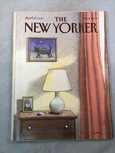 The New Yorker Magazine April 27, 1987