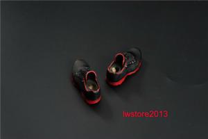 """1:6th Men's Black Sport Shoes Fit 12"""" Male HT PH TBL Action Figure Body Soldier"""