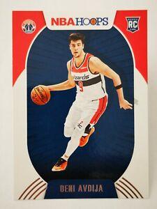 Panini Hoops 2020-21 N22 card NBA Rookie RC #201 Deni Avdija Washington Wizards