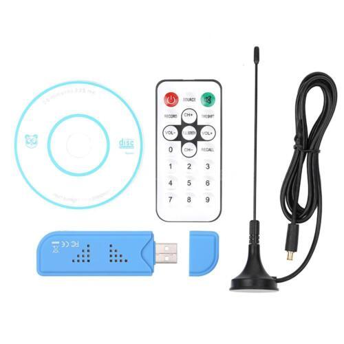 USB 2.0 Digital DVB-T SDR+DAB+FM TV Tuner Receiver Antenna Remote Control C0M4