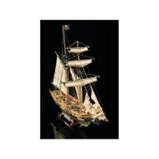 "Beautiful, Authentic Wooden Model Ship Kit by Mamoli: the ""Blackbeard"""