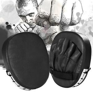 Pair-of-Boxing-Punching-Pads-Mitts-Gloves-MMA-Focus-Boxing-Pads-Sparring-Gloves