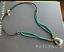 Silpada-925-Sterling-Silver-Turquoise-Glass-Beads-Leather-Brass-Necklace-N2106 thumbnail 3